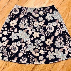 California Vintage Floral Skirt
